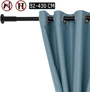 Rideau de douche barre tube télescopique rideau 165-300 cm Extra Long