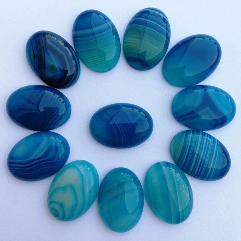 AIDEMEI Natural 2021 spring and summer new Stone Beads Blue Max 40% OFF for M Carnelian Jewelry Striped