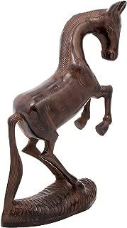 Achla Designs Prancing Horse, Garden Animal Sculpture Statue
