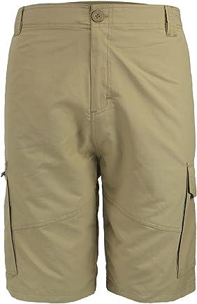 f9fc0e8ca6 Urimoser Men's Nylon Cargo Shorts Quick Dry Lightweight Casual Shorts (Khaki,  34) …