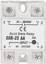 Tiamu SSR-25AA 80-250V 25A macchine a controllo AC solido Modulo Rele a stato