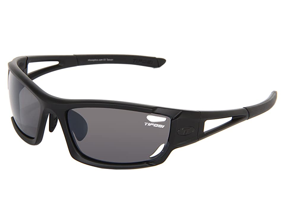 37262e051d Tifosi Optics Dolomitetm 2.0 Interchangeable (Matte Black Smoke AC Red Clear  Lens