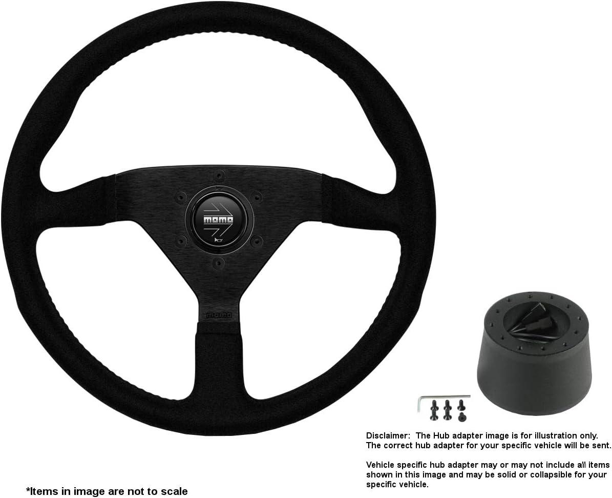 Popular standard MOMO Montecarlo 350mm 13.78 Inches Indefinitely Steering Wheel w Alcantara