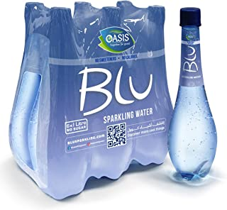 Oasis Blu Sparkling Water, 6 x 1 Litre