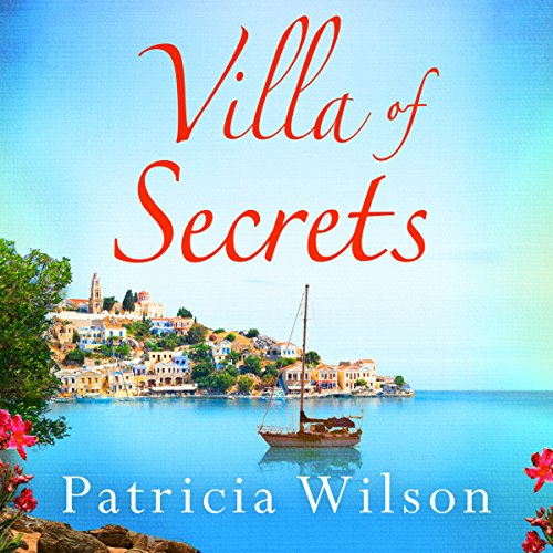 Villa of Secrets audiobook cover art