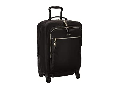 Tumi Voyageur Tres Leger International Carry-On (Black) Carry on Luggage
