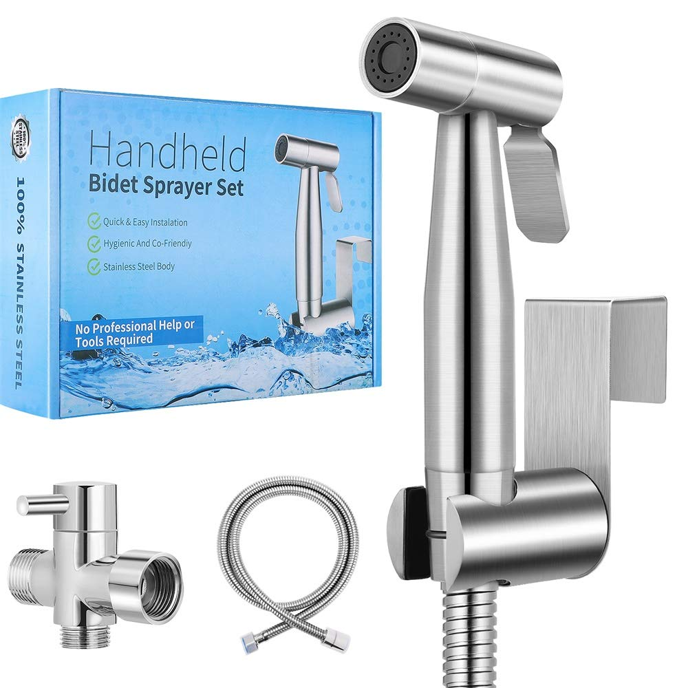 【New Version】Handheld Bidet Toilet Premium Super popular specialty store Sprayer Stainles Las Vegas Mall