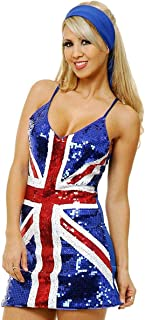 Charades Women's British Sequin Dress