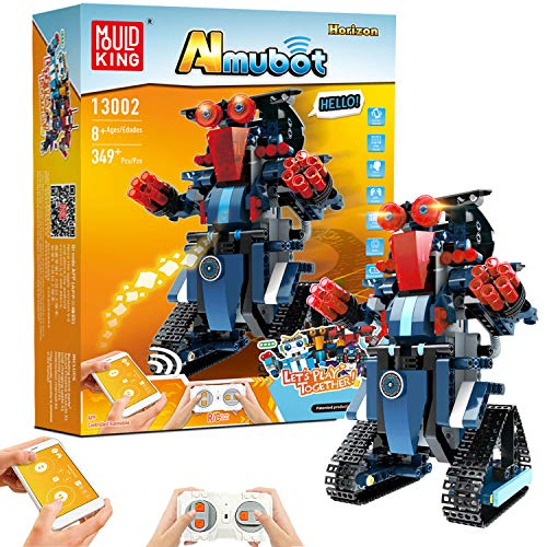 Building Block Robot Toy for Kids Educational Remote amp APP Control RC STEM Robot Toys Kit for Kids DIY Rechargeable Robotics Build Learning Kits for Boys and Girls Birthday Gift 349 Kits
