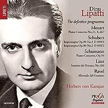 Dinu Lipatti: The Definitive Programme By Dinu Lipatti ,Philharmonic Orchestra ,Lucerne Festival Orchestra (2015-05-04)