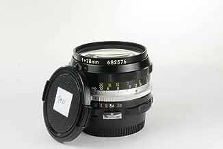Nikon Nikkor-H 28mm f/3.5 manual focus non-AI lens