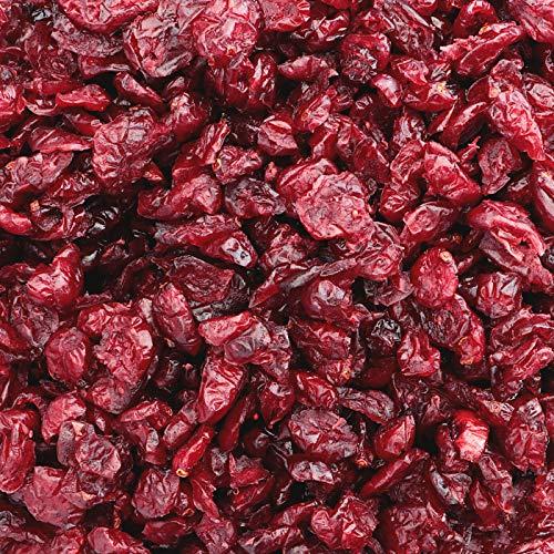 1kg Cranberry getrocknet - Aromatische Cranberries ohne Zucker und mit Ananasdicksaft gesüßt als leckere Zugabe zum Müsli