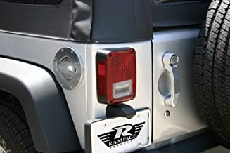 RAMPAGE PRODUCTS 85000 Chrome Billet Style Locking Fuel Door Cover for 1997-2006 Jeep Wrangler TJ