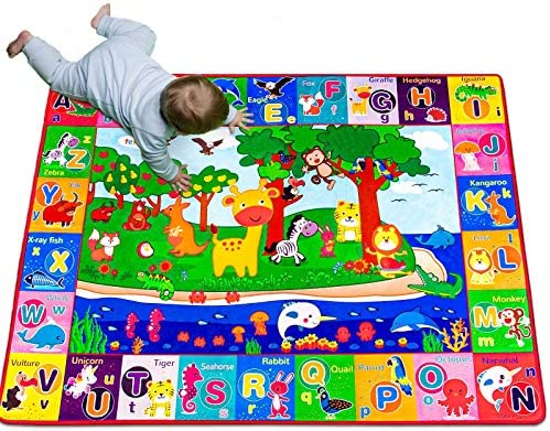 teytoy Baby Cotton Play Mat Playmat Baby Crawling Mat for Floor Baby Mat Large Super Soft Extra product image