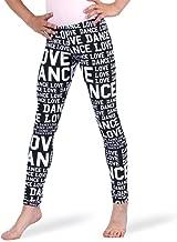 Alexandra Collection Girls Love Dance Leggings for Kids