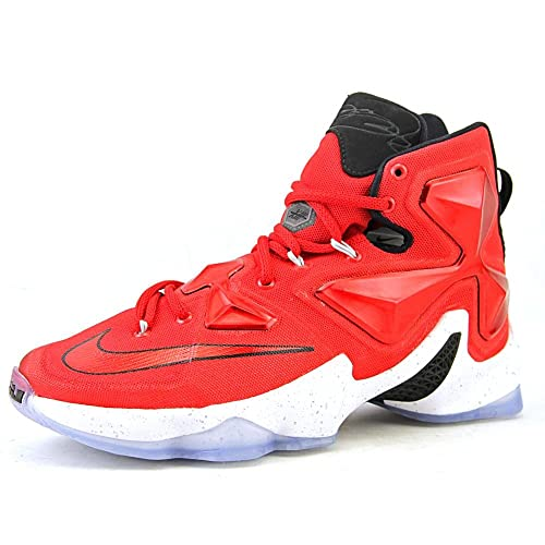 low cost ce02a 389cd Nike Men s Lebron XIII Red Basketball Shoe - 11.5 ...