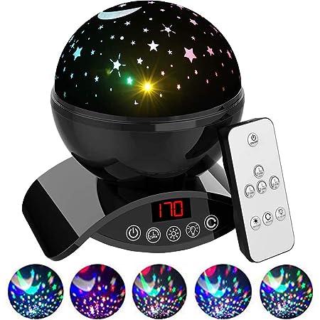 Baby Night Light Projecteur rechargeable KIDS LICORNE Star DEL Rotative projecteur