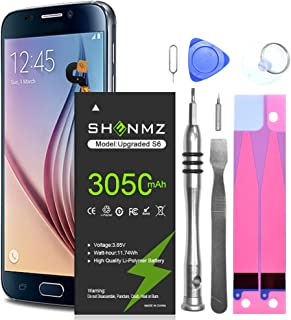 Galaxy S6 Battery,[Upgraded] 3050mAh Li-Polymer...