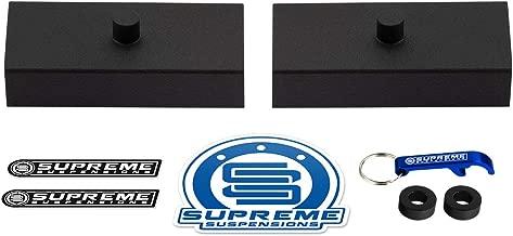 Supreme Suspensions - Rear Leveling Kit for 1999-2019 Chevrolet Silverado 1500 & GMC Sierra 1