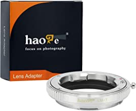 Haoge Manual Lens Mount Adapter for Leica M LM, Zeiss ZM, Voigtlander VM Lens to Leica L Mount Camera Such as T, Typ 701, Typ701, TL, TL2, CL (2017), SL, Typ 601, Typ601, Panasonic S1 / S1R