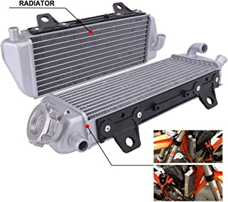 AnXin Radiator Performance Aluminum Fit for KTM 125 XC-W 250 300 350 450 500 SX SX-F Factory Editon EXC-F XC XC-F XC-W 2016 2017 2018 Motorcycle