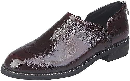 Mocassins Chaussures pour Les Les dames Simples Printemps Bas Talon Mis Pied Petites Chaussures De Mode Simple Et Confortable
