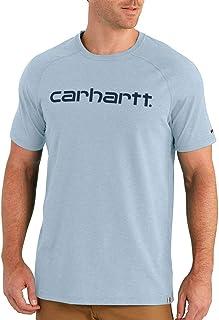 CARHARTT Men's Force Cotton Delmont Graphic Short Sleeve T Shirt