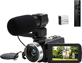 [Upgrades] Video Camera Camcorder, 4K 30MP Ultra HD Digital Camcorder Camera for Vlogging, IR Night Vision WiFi funtion 18...