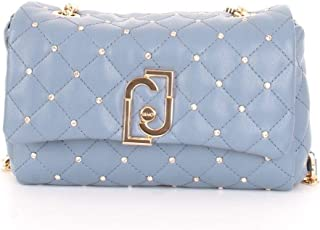 Luxury Fashion   Liu Jo Womens AA0211E0041S74111 Light Blue Shoulder Bag   Spring Summer 20