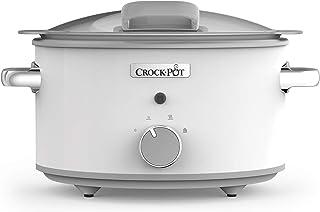 Crockpot CSC038X Mijoteuse Sauteuse électrique avec couvercle à charnière, 4L (3-4 personnes), revêtement antiadhésif Dura...