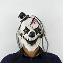 Scary Clown Mask Adult Latex Halloween Clown Evil Killer/Mardi Gras Mask Masquerade Mask for Halloween Costume Party happyL