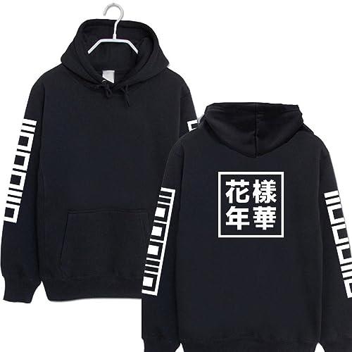 6b9dfdf2609aa9 K-Star BTS Cap Hoodie Sweater In Bloom JUNG KOOK Rap Monster Merchandise