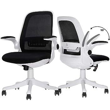 LEOVOL 事務椅子 デスクチェア オフィスチェア メッシュ チェア パソコン 椅子 オフィス イス デスク、勉強 いす 回転 ワークチェア 肘付き、メッシュチェア 腰痛椅子 勉強椅子 キャスター付き椅子 腰痛 チェアー pc ランバーサポート付き コンパクト 収納便利 約120度ロッキング 座面8cm昇降 360度静音回転 競技用メッシュ素材通気性抜群 座面肉厚10cm 耐荷重150kg