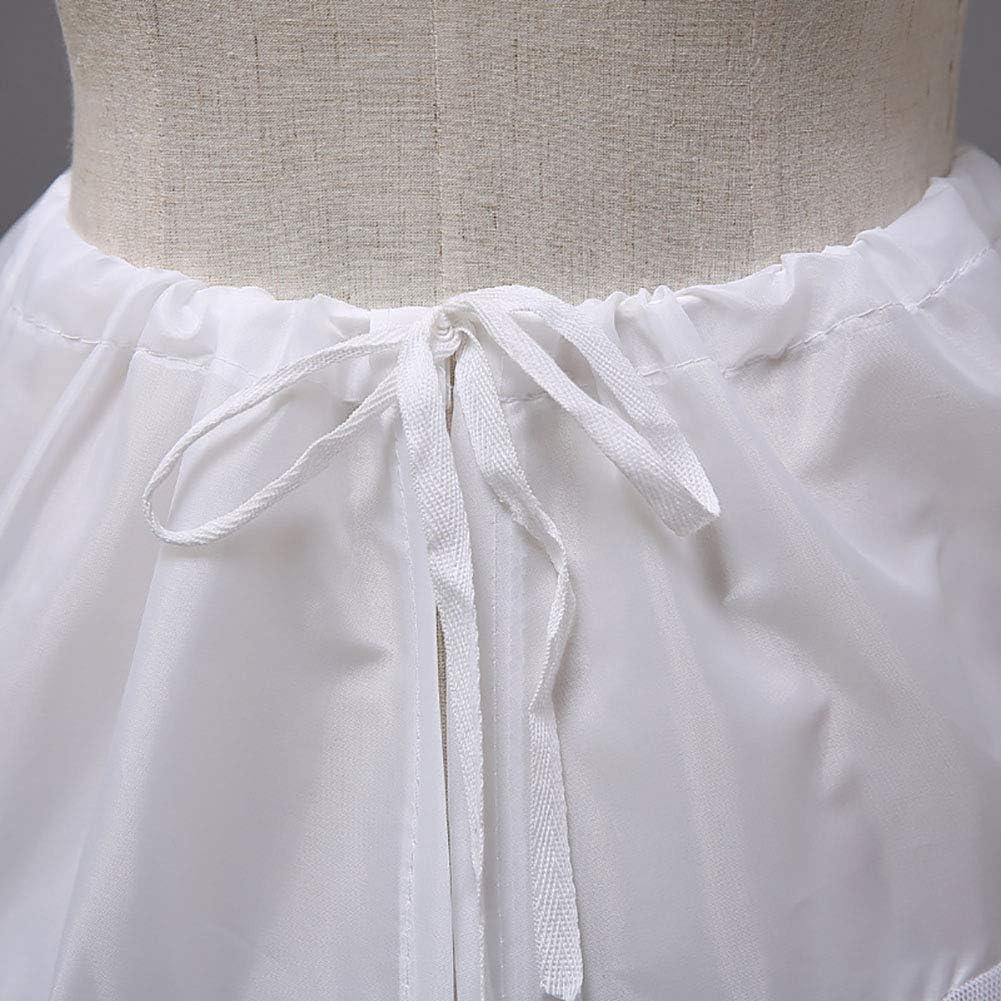 AliceHouse Flower Girl Petticoats Childrens 3 Hoop Underskirt Crinoline Skirts for Girls Full Slip KPT1