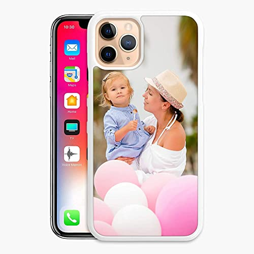 KB-Printing Personalised Phone Case For Apple Iphone 11 Pro (5.8 inch) (2019), Custom Photo Hard Cover white, Persona...
