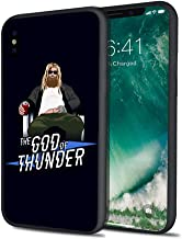 Fat Thor God of Thunder Super Hero Hard PC Hybrid Case for iPhone X 7 8 6 6s Plus XS iPhone XR iPhone Xs MAX (iPhone 7 Plus iPhone 8 Plus)