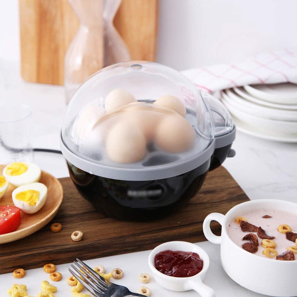 Eierstomer Egg Cooker Volautomatische huishoudelijke Power-off Candy Heart Egg gestoomde Custard ontbijt Artifact Single Layer Veiligheid Materiaal Eierkoker (Color : White) White