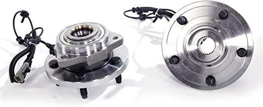 Autoforever Front Wheel Hub and Bearing Assembly with ABS (5 Lug) Fit for Jeep Commander Grand Cherokee Use with Lest and Right Side Pair