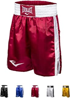 Everlast Boxing Shorts, 21 Length - Black, Blue, Red, White, Gold