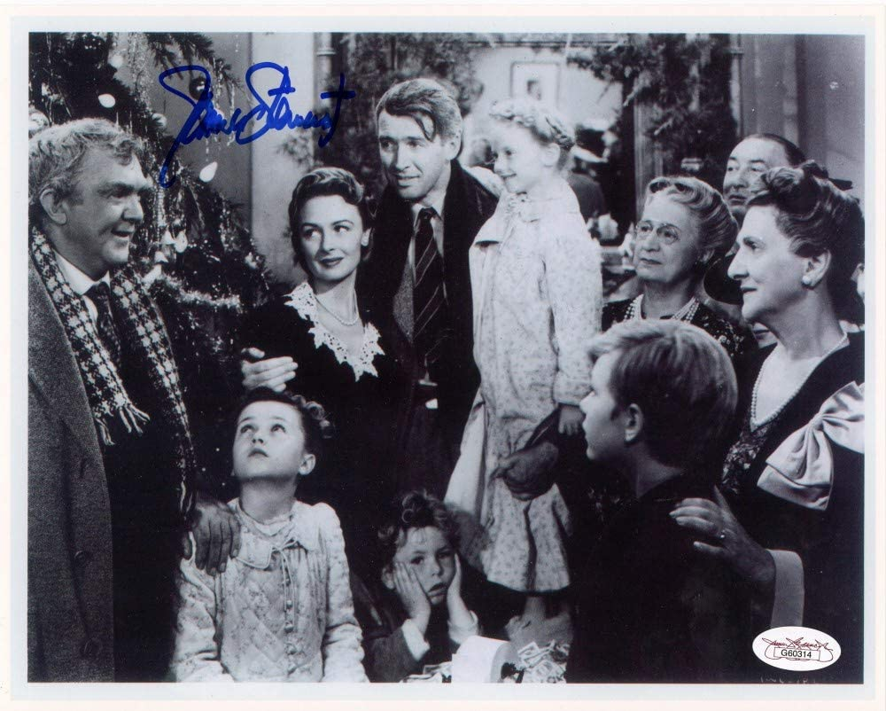 sold out James Stewart Autographed It's A High quality Wonderful Photo JSA - 8x10 Life
