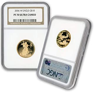 "2007 /""W/"" $5 Proof Gold American Eagle 1//10th oz Box /& COA"