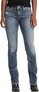 Women's Elyse Relaxed Mid-Rise Slim Bootcut