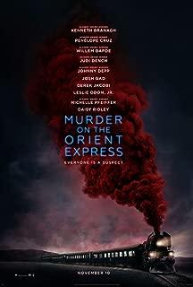Kirbis Murder On The Orient Express Movie Poster 18 x 28 Inches