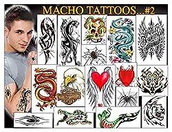 Temporary Tattoos macho