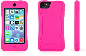 Griffin Survivor Slim Protective iPod Touch (5th/ 6th gen.) Silicone Case - Hot Pink