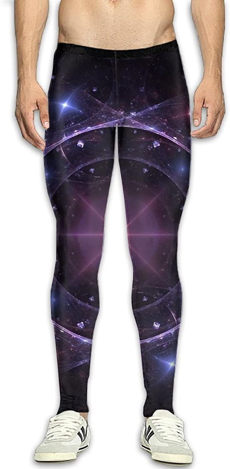 7fbaa787b9af3 Fantasy Galaxy Compression Pants Long Tights Sports Workout Workout Workout  Fitness Yoga Running Leggings For Men 89e636