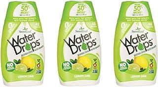 Sweetleaf Water Drops 1.62 fl.oz. 3 Pack (Lemon Lime)
