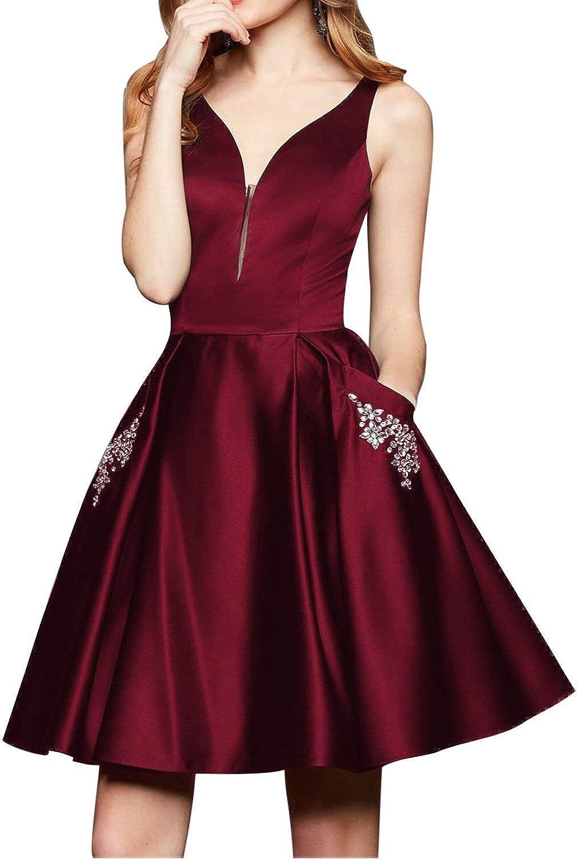 CharmingBridal Juniors Graduation Homecoming Dress Cocktail Prom Dresses Short