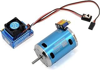 HobbyWing X5A Combo, Xerun-120A-Sd ESC, Sensored 8.5T Motor, Multifunction Program Box, Blue