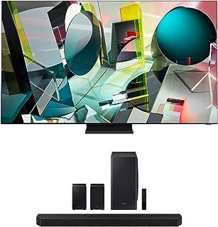 Samsung QN85Q900TS 8K Ultra High Definition Smart Quantum QLED TV with a Samsung HW-Q950T 9.1.4 Channel Soundbar with Dolb...
